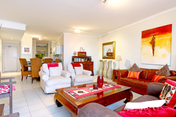 Beachcomber-Living-Room-Muizenberg-Self-Catering-Apartment